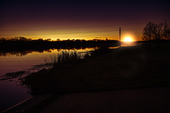 Llano Lake at Sunset 1 (Largeguy1) Tags: approved landscape sunset canon 5d mark iii