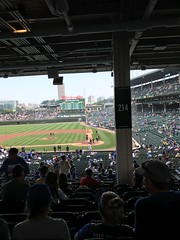 "Wrigley Field • <a style=""font-size:0.8em;"" href=""http://www.flickr.com/photos/109120354@N07/48817197807/"" target=""_blank"">View on Flickr</a>"