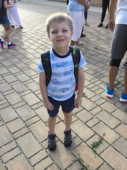 "Paul's First Day of Kindergarten • <a style=""font-size:0.8em;"" href=""http://www.flickr.com/photos/109120354@N07/48817258247/"" target=""_blank"">View on Flickr</a>"