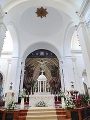 altar mayor interior Iglesia de San Juan Bautista Velez Malaga Málaga 02 (Rafael Gomez - http://micamara.es) Tags: altar mayor interior iglesia de san juan bautista velez malaga málaga vélezmálaga vélez velezmalaga