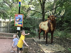 "Lego Elk • <a style=""font-size:0.8em;"" href=""http://www.flickr.com/photos/109120354@N07/48817476627/"" target=""_blank"">View on Flickr</a>"