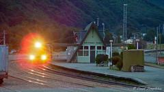 083 Coal Train headlights (Awesome Image Maker NZ) Tags: 2005 arthurspass coaltrain flickr diesellocomotive steamexcursion