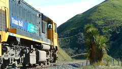 002 15Oct04 near Dashwood Pass Diesel (Awesome Image Maker NZ) Tags: 2004 flickr diesellocomotive