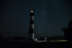 SOOC: Bodie Island Lighthouse with the Milky Way (Lakeside Annie) Tags: 09282019 2019 20190928 24120mm 24120mmf4 astrophotography bodieislandlighthouse d750 leannefzaras milkyway nc nagshead nagsheadnc nikkor24120mm nikkor24120mmf4 nikon nikond750 northcarolina obx outerbanksnc sarazphotography saturday september september28 darksky lighthouse longexposure newmoon night nightphotography nightshot