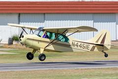 N4451E Aeronca L-16B (SamCom) Tags: 0tx1 pecanplantationairport pecanplantationflyin