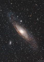 M31: The Andromeda Galaxy (AstronomíaNovaAustral) Tags: astropicsaustral celestronrocks sharpstar telescope sonyalpha astronomiachile astrophotography astronomy nasa andromeda galaxy m31 deepsky universetoday starrynight chileansky visitsouthamerica longexposhots landscape astrometrydotnet:id=nova3665868 astrometrydotnet:status=solved