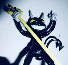 2019 Krampus Demon Devil Dude 3200 (Brechtbug) Tags: 2019 krampus devil dude funko cuphead is run gun indie video game developed published by studio mdhr the player fights series bosses order repay debt demon figure christmas pop like toy toys vinyl figures spooky scary betty boop fleicher animation cartoon villain type march wooden soldiers cup head halloween