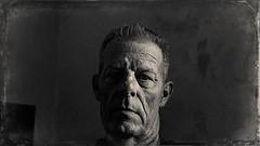 me 3780 (m.r. nelson) Tags: blackwhite bw monochrome blackandwhite ohnefarbstoffe schwarzweiss artphotography portraits people mrnelson marknelson markinaz