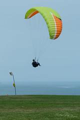 Parapente 3 (Carlos Pizarro Photography) Tags: blue cielo lima peru mar miraflores sea parapente sky paragliding azul