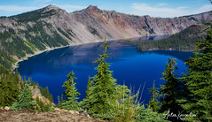 Crater Lake National Park (designcover2006) Tags: craterlake crater lake blue colors wather forest oregon usa