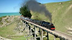 004 Okarahia Viaduct Jb1236 run2 (Awesome Image Maker NZ) Tags: 2007 flickr jb1236 steamexcursion steamtrain