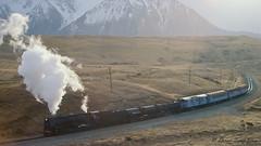 074 Steam train (Awesome Image Maker NZ) Tags: canonslidebestof cassbank flickr ka942 slides steamexcursion steamtrain