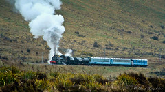 023 16Oct04 Cass Bank 1 (Awesome Image Maker NZ) Tags: 2004 ab663 cassbank flickr steamexcursion steamtrain