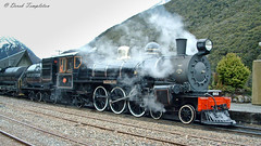 019 16Oct04 Arthurs Pass 1 (Awesome Image Maker NZ) Tags: 2004 ab663 arthurspass flickr steamexcursion steamtrain