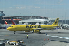 IMG_8275 (GojiMet86) Tags: spirit airlines inc nyc new york city airplane plane 2017 airbus a321200 n679nk laguardia airport terminal c