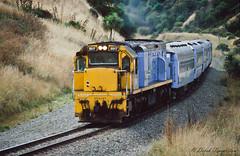 078 Diesel Electric train (Awesome Image Maker NZ) Tags: canonslidebestof dx5517 flickr slides diesellocomotive