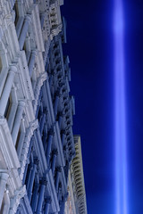 Tribute in Light (BrianEden) Tags: soho wtc worldtradecenter 11th manhattan september11th nyc newyorkcity tributeinlight newyork tributeinlights september11 sept11 sept ny