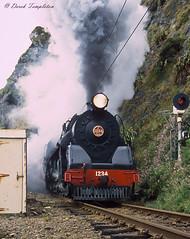 012 Steam train (Awesome Image Maker NZ) Tags: canonslidebestof flickr ja1234 slides steamexcursion steamtrain