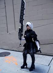 VSPAXW_025bas (BAS Photog) Tags: vivsai nierautomata nier 2b cosplay cosplayer paxwest 2019 seattle basphotography yorha no2 typeb squareenix videogame
