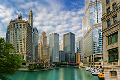 Chicago (s.w.Lepak) Tags: chicago chicagoriver architecture city color