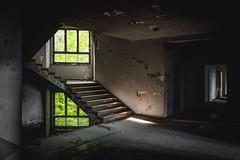 Stairwell (Christoph Wenzel) Tags: urbex deutschland verfall sonyalpha7riii thüringen lostplace schwarzeck tamron2875mmf28diiiirxd sommer badblankenburg