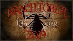 Happy Arachtober 2019! (zxgirl) Tags: arachtoberbanner arachtober2019 pseudoscorpion banner start arachtober arachtober19