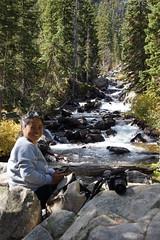 DSC02029 (photorandy2011) Tags: grandtetons wyoming mountains connie hiddenfalls
