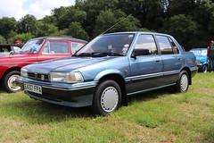 Rover 216 SE E437FPA (Andrew 2.8i) Tags: show automobile auto voiture cars car classics classic carmarthenshire arms bronwydd day transport railway gwili british saloon sedan sd3 austin series 200 ballade honda 216se se 216 rover e437fpa