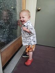 Laughing (quinn.anya) Tags: eliza toddler laughing porch