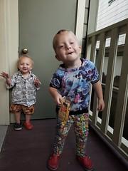 Dancing (quinn.anya) Tags: paul preschooler eliza toddler dancing brother sister