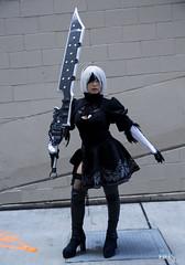 VSPAXW_023bas (BAS Photog) Tags: vivsai nierautomata nier 2b cosplay cosplayer paxwest 2019 seattle basphotography yorha no2 typeb squareenix videogame