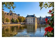 Mauritshuis (Bob Geilings) Tags: mauritshuis denhaag thehague architecture hofvijver torentje binnenhof gebouwen museum bluesky autumn art vermeer girlwithapearlearring