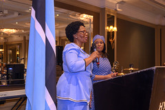 DSC_8453 Botswana 53rd Independence Day Celebration at The Hyatt Regency Churchill Hotel London The Wife of His Excellency Rev. Dr John N. G. Seakgosing Botswana High Commissioner to the UK (photographer695) Tags: botswana 53rd independence day celebration the hyatt regency churchill hotel london wife his excellency rev dr john n g seakgosing high commissioner uk