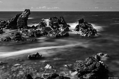 Maui (Ken Mickel) Tags: coast hawaii hookipabeach kenmickelphotography landscape longexposure longexposurephotography maui ocean outdoors seashore simplesky sky waterscape blackandwhite photography water haiku unitedstatesofamerica