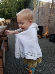 How do arms work in a cape? (quinn.anya) Tags: eliza toddler cape arm reaching
