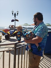 Sam and Eliza (quinn.anya) Tags: sam eliza kindergartener toddler andy santacruzboardwalk