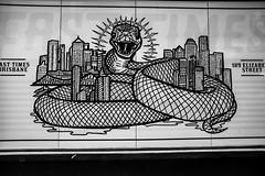 fast times brisbane (monkeyc.net) Tags: brisbane monday exploration westend grafitti street streetart walls signs murals eos m50 mirrorless stickers