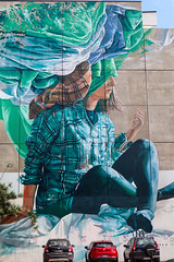 head in the clouds (monkeyc.net) Tags: brisbane monday exploration westend grafitti street streetart walls signs murals eos m50 mirrorless stickers
