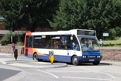 SSW 47084 @ Sidwell Street, Exeter (ianjpoole) Tags: stagecoach south west optare solo m880 wa04twx 47084 working route p dorset avenue redhills rosebarn pennsylvania