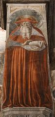 Saint Jerome (Lawrence OP) Tags: jerome saints doctorofthechurch gozzoli sangimignano fresco cardinal