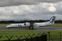 Flybe J-JECL (Northern Transport Photos) Tags: flybe manchesterairport