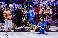 PAXW19_007c (BAS Photog) Tags: videogames cosplay cosplayers paxwest 2019 seattle washington capcom streetfighter residentevil biohazard devilmaycry megaman darkstalkers