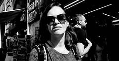 The highway of regret... (Baz 120) Tags: candid candidstreet candidportrait city contrast street streetphoto streetcandid streetportrait strangers rome roma ricohgrii europe women monochrome monotone mono noiretblanc bw blackandwhite urban life portrait people provoke italy italia girl grittystreetphotography faces decisivemoment