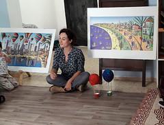 מאיה אלמוג   ציירת אמנית  ישראלית מורה לציור פעילות  ילדים בגיל הרך ילדי גן יוצרים אומנות מציירים מיה הציירת האמנית הישראלית ציורים נאיביים רפי פרץ (naiveart1234) Tags: מאיה אלמוג בפעילות לילדים בגני ילדים ציור נאיבי ילדי גן מציירים יצירות של אמנים ישראלים מיה ציירות אמניות ישראליות הציירות האמניות הישראליות ציירת ישראלית עכשווית מודרנית מורה לציור פעילות בגיל הרך ילד ילדה גנים בגנים לגנים לגן לגננת גננת מפעילה יצירה יוצרים יוצרת רפי פרץ הגן הגנים צבע צבעים בצבע בצבעים ציורים הציורים בציורים לציורים בציור הציור הצייר צייר אמן האמן האמנים אומנים לילד לילדה לאמנות מצייר maya almog