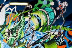 color wall (monkeyc.net) Tags: brisbane monday exploration westend grafitti street streetart walls signs murals eos m50 mirrorless stickers