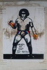 america the giant (monkeyc.net) Tags: brisbane monday exploration westend grafitti street streetart walls signs murals eos m50 mirrorless stickers