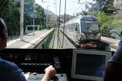 ERT-208-Castellammare-di-Stabia-Italy-21-9-2019 (D1021) Tags: ert208 emu metergauge castellammaredistabia castellammaredistabiastation italy italianrailway d300 nikond300