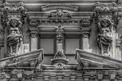 The Mitchell Building (Ken Mattison) Tags: historicbuildings architecture sculpture urban cityscape bnw bw blackandwhite monochrome landscape milwaukeewisconsin usa panasoniclumix fz1000