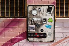 elder children (monkeyc.net) Tags: brisbane monday exploration westend grafitti street streetart walls signs murals eos m50 mirrorless stickers