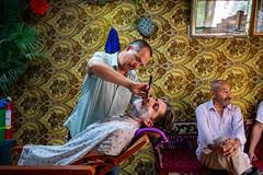 At The Barber Shop (Kashgar, China. Gustavo Thomas © 2019) (Gustavo Thomas) Tags: kashgar kashi xinjiang uyghur uighur barber people life interior muslimworld travel adventure trip voyager